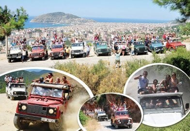 Alanya Jeep Safari 15€